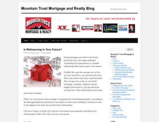mountaintrust.wordpress.com screenshot