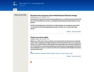 mountaintv.net screenshot