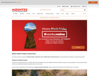 mountex.sk screenshot
