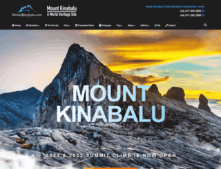 mountkinabaluferrata.com screenshot