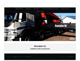 mountplan.fi screenshot