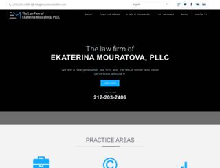 mouratovalawfirm.com screenshot