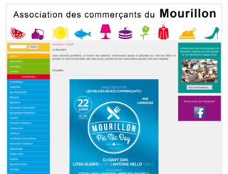 mourillon.fr screenshot