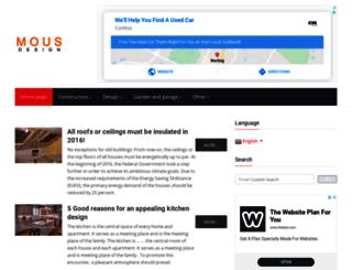 mous-design.com screenshot