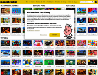 mousebreaker.com screenshot