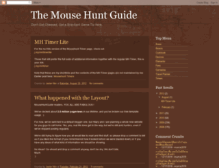 mousehuntguide.blogspot.com screenshot