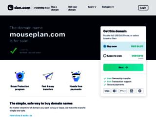 mouseplan.com screenshot
