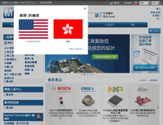 mouser.hk screenshot