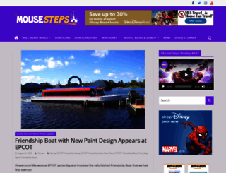 mousesteps.com screenshot