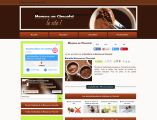 mousse-au-chocolat.net screenshot