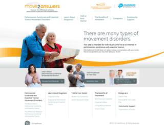 move2answers.gehealthcare.com screenshot