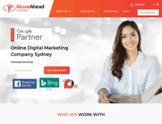 moveaheadmedia.com.au screenshot