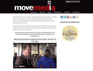 movemedia.co.za screenshot