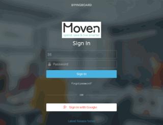 moven.pingboard.com screenshot