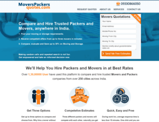moverspackersquotes.com screenshot