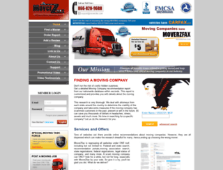 moverzfax.com screenshot