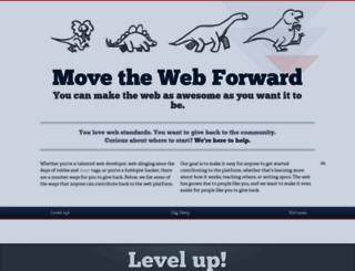 movethewebforward.org screenshot