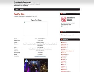 movie-dot-com.blogspot.com screenshot