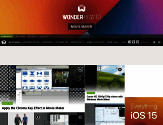 movie-maker.wonderhowto.com screenshot