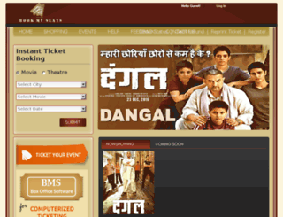 movie.bookmyseats.co.in screenshot