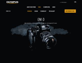 movie.olympus-imaging.com screenshot