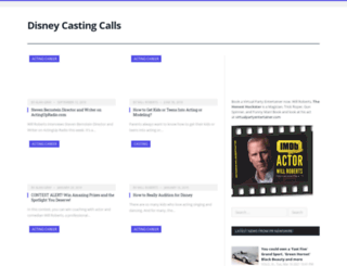 moviecastingcall.org screenshot