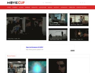movieclip.com screenshot