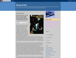 moviecritic2000.blogspot.com screenshot