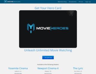 movieheroes.com screenshot