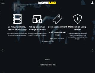 moviemax.nl screenshot