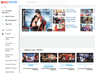 movienepali.com screenshot