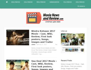 movienewsandreview.com screenshot