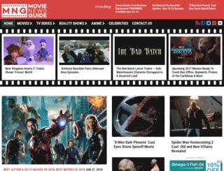 movienewsguide.com screenshot