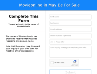 movieonline.in screenshot