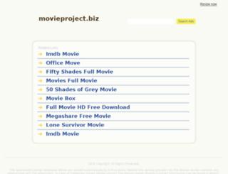 movieproject.biz screenshot