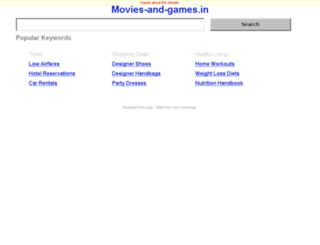 movies-and-games.in screenshot