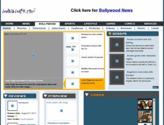 movies.indiainfo.com screenshot