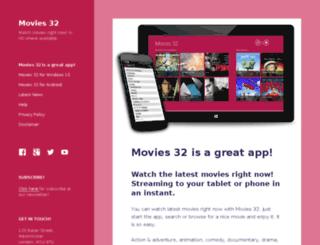 movies32app.com screenshot