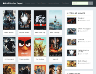 moviesdepot.net screenshot