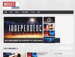 moviesinlatest.com screenshot
