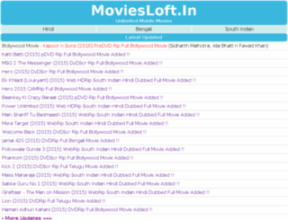 moviesloft.in screenshot
