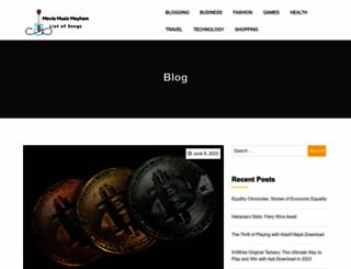 moviesmusicmayhem.com screenshot