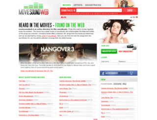 moviesoundweb.com screenshot
