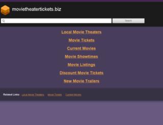 movietheatertickets.biz screenshot
