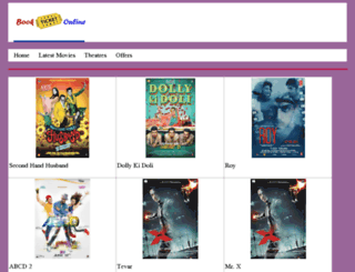movieticketbooking.in screenshot