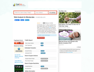 moviezrules.com.cutestat.com screenshot
