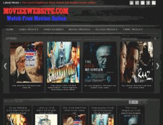 moviezwebsite.com screenshot