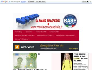 movimentobaseitalia.altervista.org screenshot