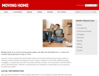 moving-home.org screenshot