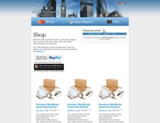 movingboxeslondon.co.uk screenshot
